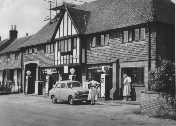 Elham Service Garage in 1950